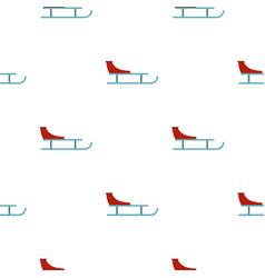 Sleigh pattern seamless vector