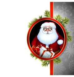Santa design vector image