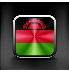 Simple malawi present flag isolated vector