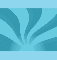 Abstract striped twirl twisted background blue vector