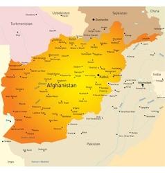 Afganistan vector image vector image