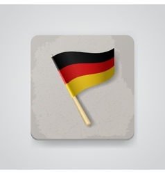 Germany flag icon vector image vector image