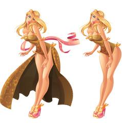 Goddess vector