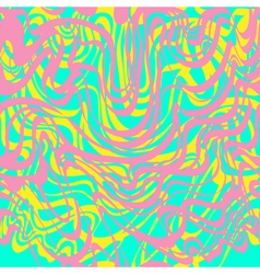 Abstract pink blue yellow and lavender moire vector