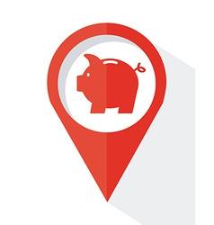 Piggy design vector
