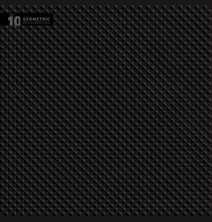 abstract geometric triangle black pattern vector image