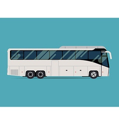 Coach bus icon vector