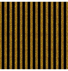Parallel vertical lines gold sequins stars vector