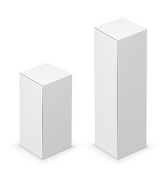 Tall box vector
