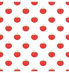 Tomato pattern cartoon style vector