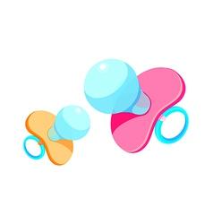 icon nipple vector image