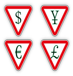 Sign money vector