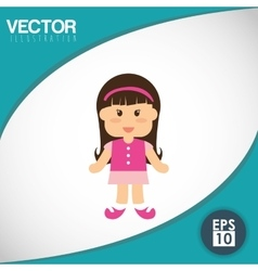 Kid icon design vector