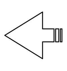 arrows navigation vector image
