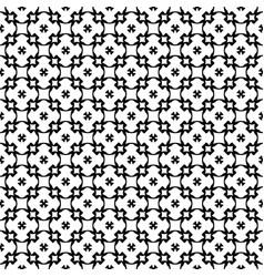 Seamless pattern geometric ornament vector