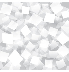 White abstract background with geometrical objects vector image vector image