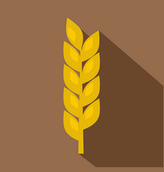 one spike icon flat style vector image