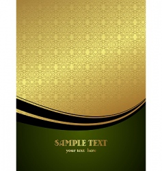 Luxury card vector