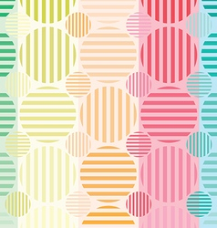 Circle abstract colorful vector