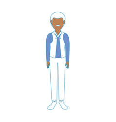 Adult man avatar vector