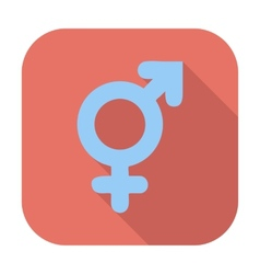 Bisexuals sign vector image