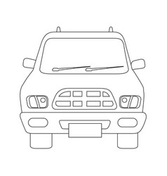 car icon image vector image vector image