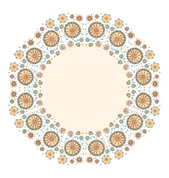 color decorative flower background with place for vector image