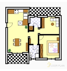 Floor plan vector