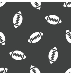 Rugby ball pattern vector