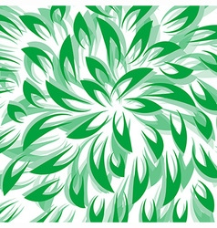 Green leaf abstract background vector