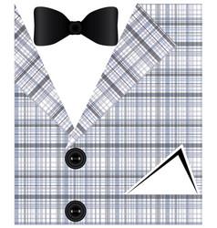 Mens suit vector