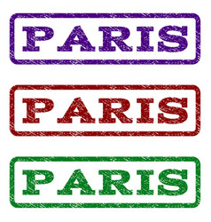 paris watermark stamp vector image