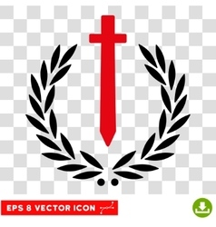 Sword honor embleme eps icon vector