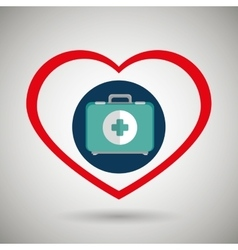 Symbol medicine services icon vector