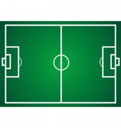 Football field vector
