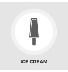 Ice cream flat icon vector