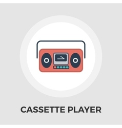 Boombox flat icon vector image