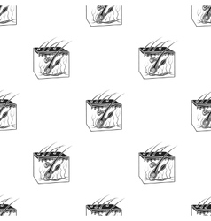 Skin icon in black style isolated on white vector