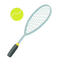 Tennis sport icon cartoon style vector