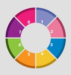 Info circle vector