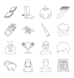 Science finance sport and other web icon in vector