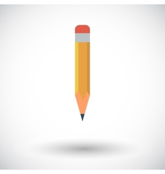 Pencil icon vector