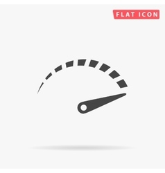 Indicator simple flat icon vector