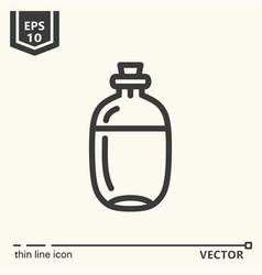 ayurvedic supplies - icon series vector image vector image