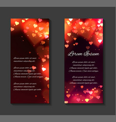 Festive leaflets flyers brochure template vector