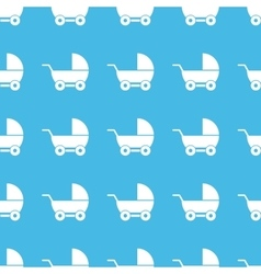 Pram straight pattern vector