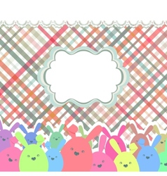 Happy easter eggs EPS 8 vector image vector image