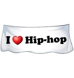 Hiphop vector
