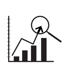 Indicator of business on white background vector