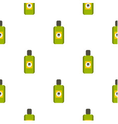mouthwash pattern seamless vector image